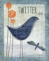 Twitter Lane Fine Art Print