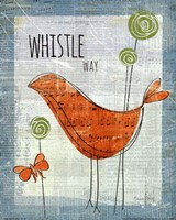 Whistle Way Fine Art Print