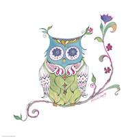 Owl Branch Fine Art Print