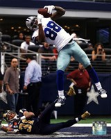 Dez Bryant 2013 in Action Fine Art Print