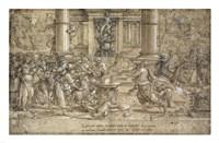 The Sacrifice at Lystra Fine Art Print
