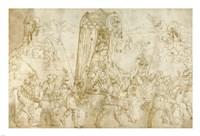 A Turkish Procession Fine Art Print