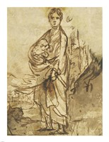 Saint Agnes Fine Art Print