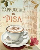 Cafe in Europe IV Framed Print