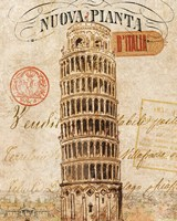 Letter from Pisa Fine Art Print