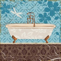 Eco Motif Bath II Framed Print