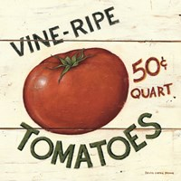 Vine Ripe Tomatoes Framed Print