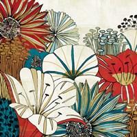 Contemporary Garden I Fine Art Print