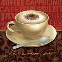 Coffee Talk I Fine Art Print