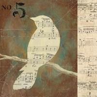 Bird Silhouettes II Fine Art Print