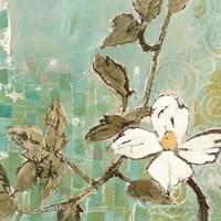 White Trellis III Fine Art Print