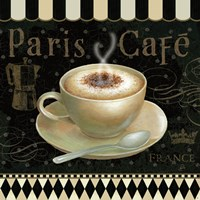 Cafe Parisien III Framed Print