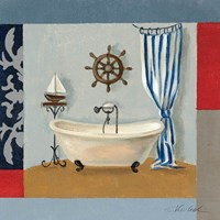 Nautical Bath II Fine Art Print