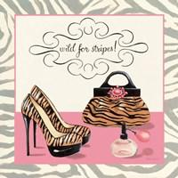 Wild for Stripes Framed Print