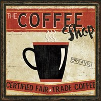 Coffee Roasters II Framed Print