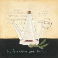 Huile d Olive IV Framed Print