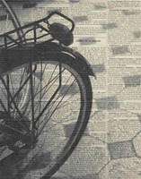 La Bicyclette III Framed Print