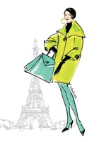 Colorful Fashion II - Paris Fine Art Print