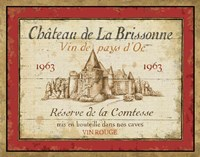 French Wine Labels I Fine Art Print