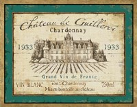 French Wine Label IV Framed Print