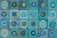 Underwater Mosaic Framed Print