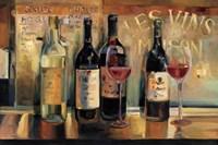 Les Vins Maison Framed Print