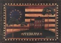 Small-Americana Fine Art Print