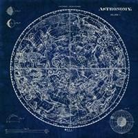 Celestial Blueprint Fine Art Print
