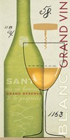Grand Vin Blanc Fine Art Print