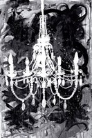 Chandelier Black and White Fine Art Print