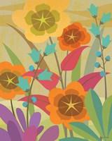 Flowerbed 16x20 Fine Art Print