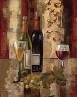 Graffiti and Wine III Framed Print
