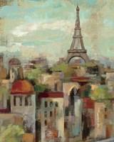 Spring in Paris II Framed Print