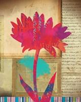 Floral Notes I Fine Art Print