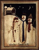 Winter Greetings Fine Art Print