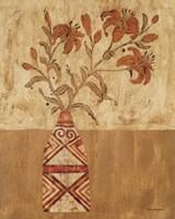 Batik Tiger Lilies Fine Art Print