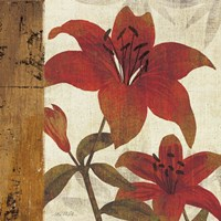 Floral Harmony II Fine Art Print