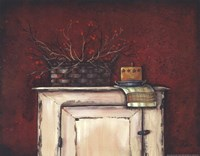 Berries on an Old Chest Fine Art Print