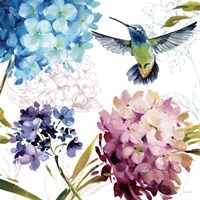 Spring Nectar Square III Fine Art Print