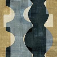 Geometric Deco II Framed Print