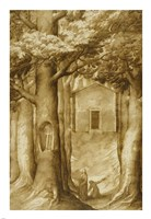 La Verna: The Chapel of the Blessed Giovanni della Verna Fine Art Print