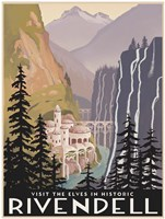 Visit Historic Rivendell Framed Print