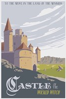 Witche's Castle Travel Fine Art Print