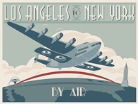 La To Ny Zazzle2 Fine Art Print