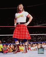Rowdy Roddy Piper Action Fine Art Print