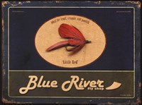 Blue River Fine Art Print