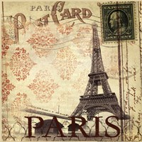 Paris Postcard Fine Art Print