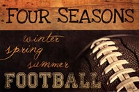 Four Seasons Football II Fine Art Print