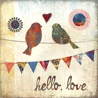 Hello, Love Fine Art Print