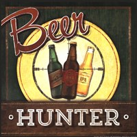 Beer Hunter Fine Art Print